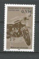 ANDORRE 2005 N° 614 NEUF** - Andorra Francese