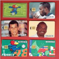 FOOTBALL COUPE DU MONDE FRANCE 1998 FOOTIX LOT 11 SOUVENIRS - Apparel, Souvenirs & Other