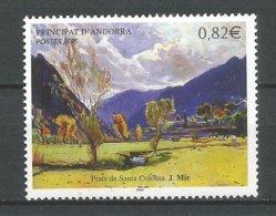 ANDORRE 2005 N° 615 NEUF** - Andorra Francese