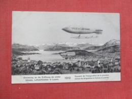 Europe > Switzerland > LU Lucerne  Zeppelin    Ref   3651 - LU Lucerne
