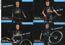 CYCLISME: CYCLISTE : EQUIPE METEC   2019 COMPLETE - Ciclismo