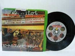 Beatles 45t Vinyle Movie Medley Japon - Hard Rock & Metal