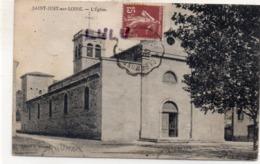DEPT 42 : édit. A Béraud : Saint Just Sur Loire L'église - Saint Just Saint Rambert