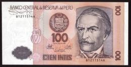 PERU  100 INTIS    1987 UNC - Peru
