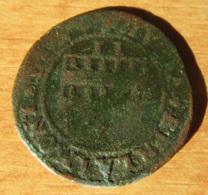 France - Evêché De Cambrai - Monnaie Double Denier Louis De Berlaimont (1570-1596) - 476-1789 Monnaies Seigneuriales