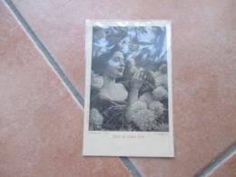 Donnine Woman Parte Del Trittico EROS E.Saccaggi Scritta Al Verso - Cartes Postales