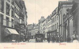 A-19-4845 :  ANVERS. MARCHE AUX SOULIERS. TRAMWAY. - Antwerpen