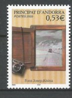 ANDORRE 2005 N° 617 NEUF** - Andorra Francese
