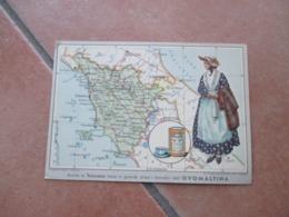 Donnine Woman OVOMALTINA TOSCANA Costume Folk  Altamente Apprezzata Dott.A.Wander S.a. Milano - Werbepostkarten