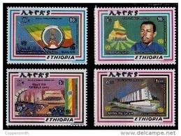 (317) Ethiopia / Ethiopie  Republic / 1988 / Rare / Scarce ** / Mnh  Michel 1307-10 - Etiopía
