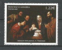 ANDORRE 2005 N° 619 NEUF** - French Andorra
