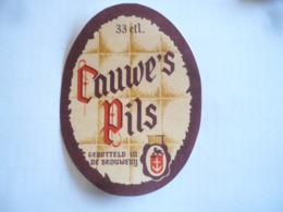 Belgische Bier Etiketten Cauwe Roeselare - Alcohols