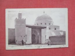 Kairouan  Mosquee Has Stamps & Cancel        Ref   3651 - Tunisia