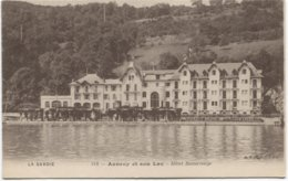 Le Lac D'Annecy - Hotel Beaurivage - Ed. BF Lux 218 - - Annecy