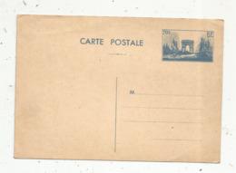 Entier Sur Carte Postale,70c , Paris ,Arc De Triomphe, Neuf - Enteros Postales