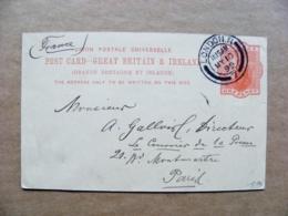 Postal Stationery Card GB UK 1999 One Penny London - 1840-1901 (Victoria)