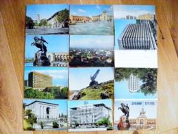10 Postal Stationery Cards In Folder Ussr 1978 Yerevan Armenia - 1923-1991 USSR