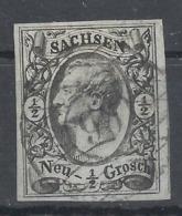 "Sachsen 8 II X Gest. ""98"" Pulsnitz - Saxony"