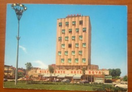 LADISPOLI Piazza Odescalchi Hotel Royal Animata Auto Cars CARTOLINA Viaggiata 1973 - Italy