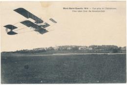 PERONNE, MONT SAINT QUENTIN, 1914 - Vue Prise De L''Aérodrome - Peronne