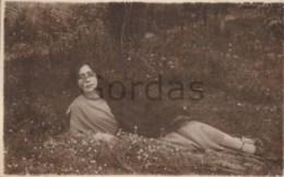 Romania - Ramnicu Valcea - Woman With Very Long Hair - Photographs