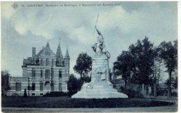 COURTRAI - 16 SBP - Boulevard De Groningue Et Monument Des Eperons D' Or - Kortrijk