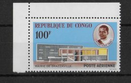 CONGO - RARE POSTE AERIENNE YVERT N° 11 ** MNH - COTE = 170 EUR. - Neufs