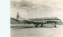 Carte  Photo -  Avion  -  Viscount  De La C M E A  V1016 - Aerei