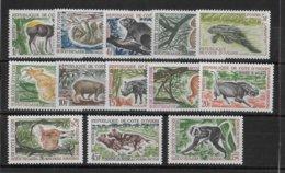 COTE D'IVOIRE - ANIMAUX -  YVERT N° 211/220 ** MNH - COTE = 20 EUR. - Costa De Marfil (1960-...)