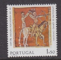 Europa Cept 1975 Portugal 1v  (1.50Esc) Normal Paper ** Mnh (44880) - Europa-CEPT