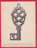 """Publicité Médicament ; Medecin ; Pharmacie ; Elixir Grez  """" Clés  ; Clef """" En Bronze époque Carolingienne - Advertising"""
