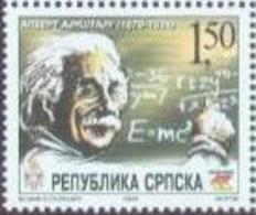 BHRS 2004-297 125A°ALBERT EINSTEIN, BOSNA AND HERZEGOVINA, R.SRPSKA, 1 X 1v, MNH - Albert Einstein