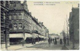 COURTRAI - Marché Aux Grains - KORTRIJK - Koornmarkt - L. L. B. N° 1 - Kortrijk