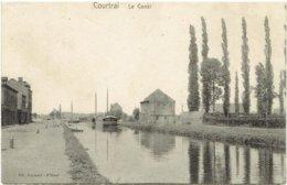 COURTRAI - Le Canal - Péniche - Ed. Beyaert-Filleul - Kortrijk
