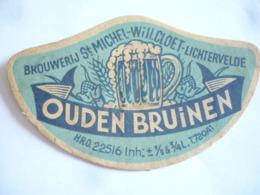 Belgische Bier Etiketten Cloet Lichtervelde - Alcohols