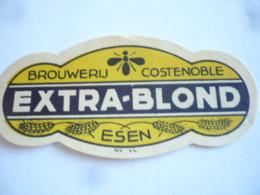 Belgische Bier Etiket Costenoble Nu Dolle Brouwers - Alcohols