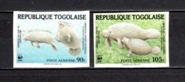 TOGO PA  N° 515 + 516  NON DENTELES  NEUFS SANS CHARNIERE COTE  ? €  ANIMAUX  VOIR DESCRIPTION - Togo (1960-...)