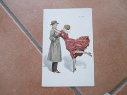 Donnine WOMAN En 1917 Coppia Uomo Impermeabile Regalo Gift MODA Vestito Acconciatura - Couples