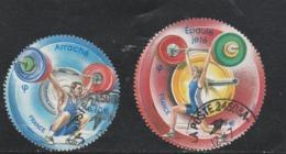 FRANCE 2011 ISSU DU BLOC HALTEROPHILIE OBLITERE  YT 4598 + 4599 - Oblitérés