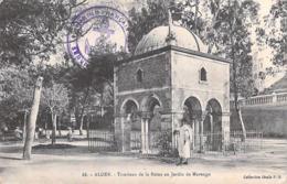 Afrique-Algérie- ALGER Tombeau De La Reine Au Jardin Marengo  (cachet MARINE FRANCAISE)  (Idéale P.S 88  ) *PRIX FIXE - Algeri