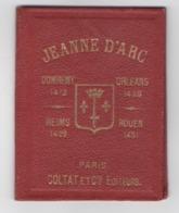 """Petit Carnet""""JEANNE D'ARC""""4 Images""""+carnet De 16 Timbres""""syndicat De Domrémy La Pucelle""""Eglise""""ROUEN""""Orleans""""Reims - Devotion Images"""