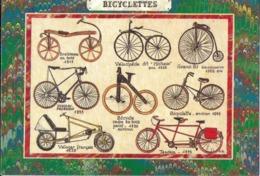 TRANSPORT VÉLO BICYCLETTES  D'AUTREFOIS LD 32 EDIT. CARTES D'ART - Cartes Postales