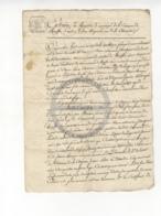 /!\ 1396 - Parchemin - An VII De La République - Commune De Ruffec - Charente - Manoscritti