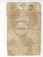 /!\ 1398 - Parchemin - 1751 - Commune De Ruffec - Charente - Manoscritti