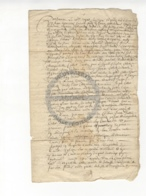 /!\ 1399 - Parchemin - 1670 - Commune De Ruffec - Charente - Manoscritti
