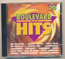 CD : BOULEVARD DES HITS N° 20 (1995), De Palmas, Axelle Red, Jamiroquai, Kylie Minogue, Take That, Dee Nasty, Aswad... - Compilations
