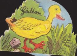 B. Rabier : Gédéon Le Canard  Avec Système Roulette De La Vache  Qui Rit  : Fromagerie  ///  REF  SEPT. 19  /// N° 9659 - Rabier, B.