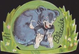B. Rabier : Placide L'ours  Avec Système Roulette De La Vache  Qui Rit  : Fromagerie  ///  REF  SEPT. 19  /// N° 9659 - Rabier, B.