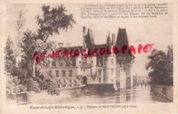 28 - MAINTENON- LE CHATEAU  COTE NORD - Maintenon