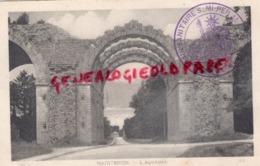 28 - MAINTENON- L' AQUEDUC - CACHET TRAIN SANITAIRE N° 10 - Maintenon